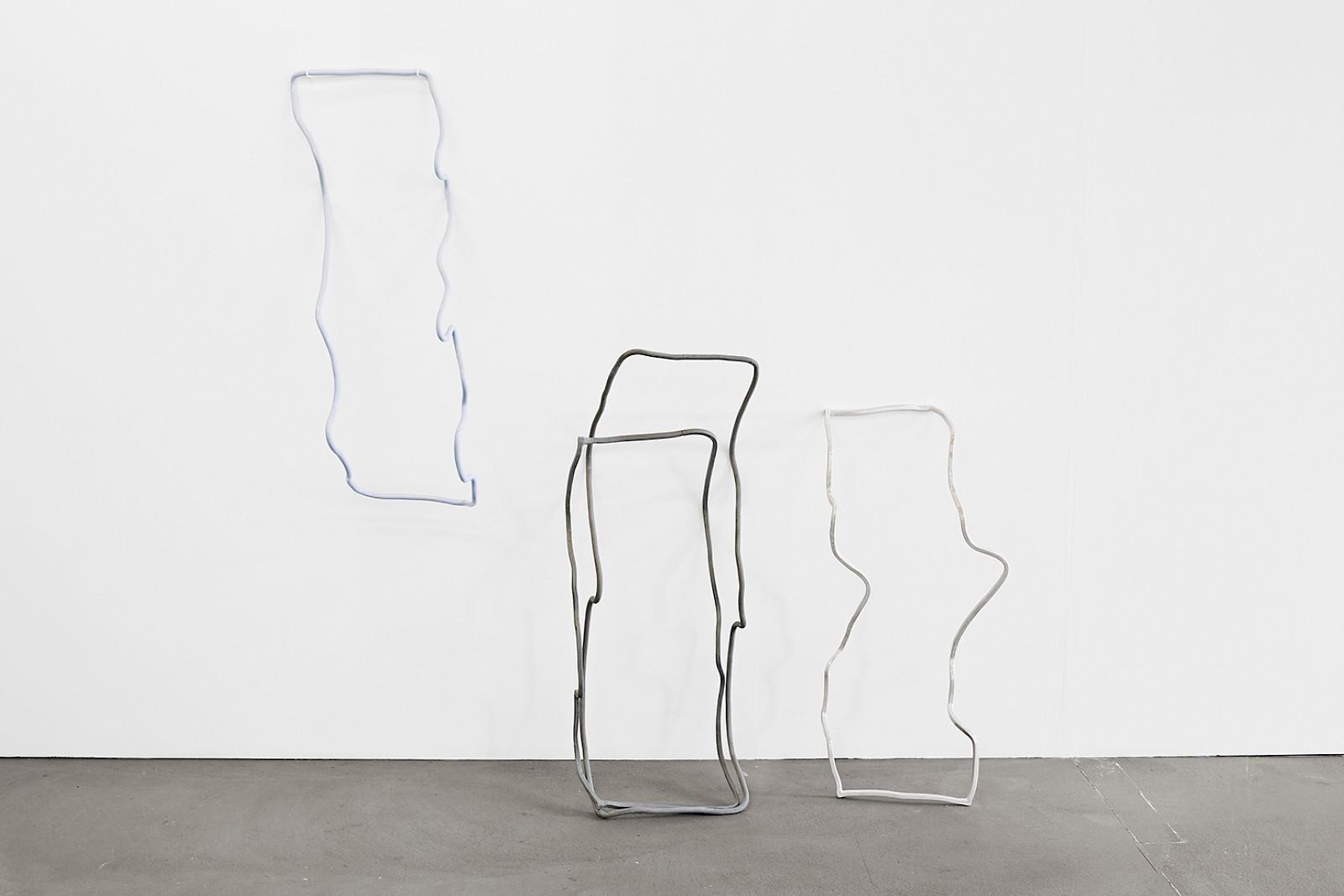 Image - Ceramics, 200 × 180 × 30cm, Installation view