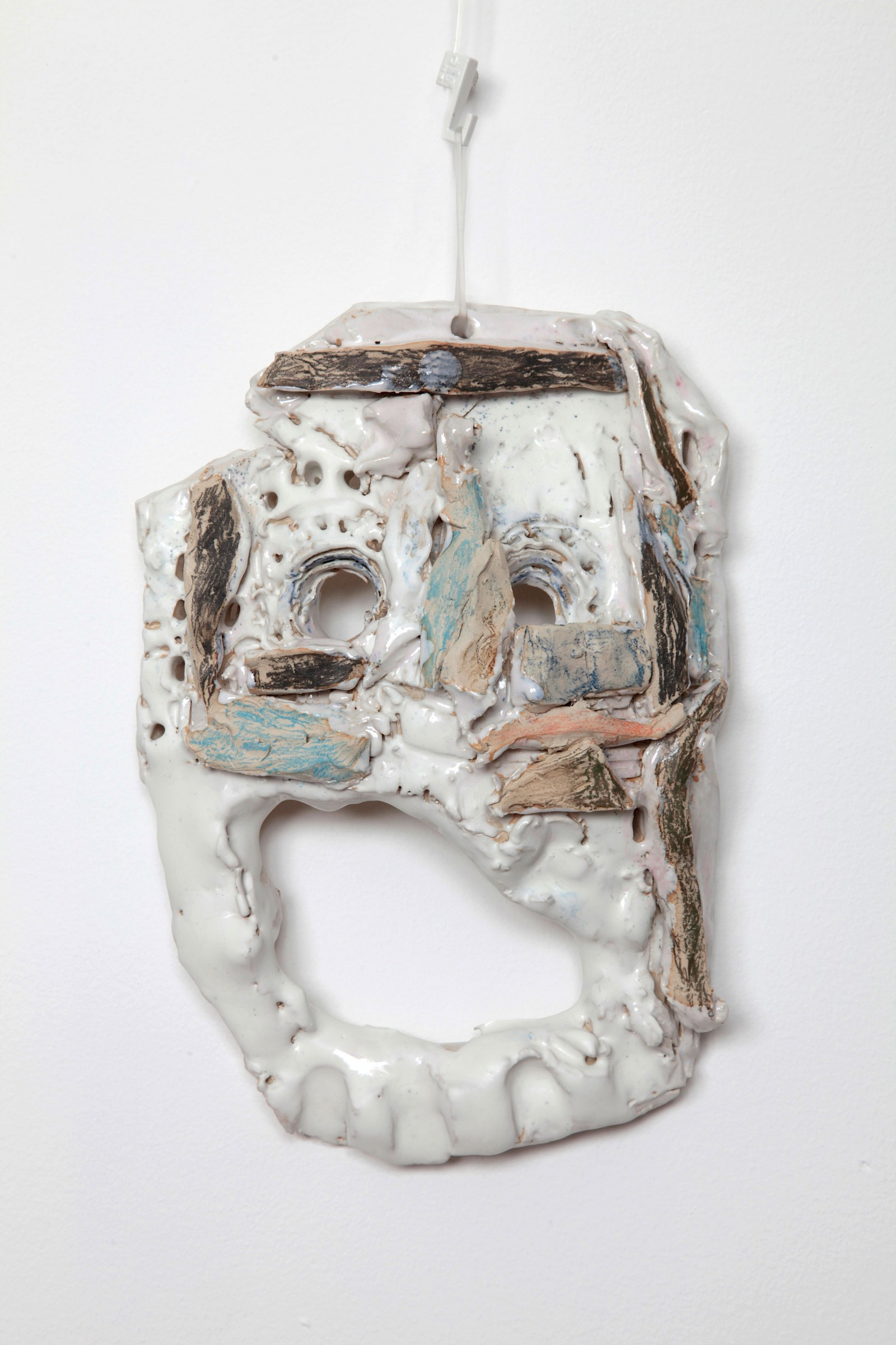 Image - Ceramic mask by Emilie Frosio