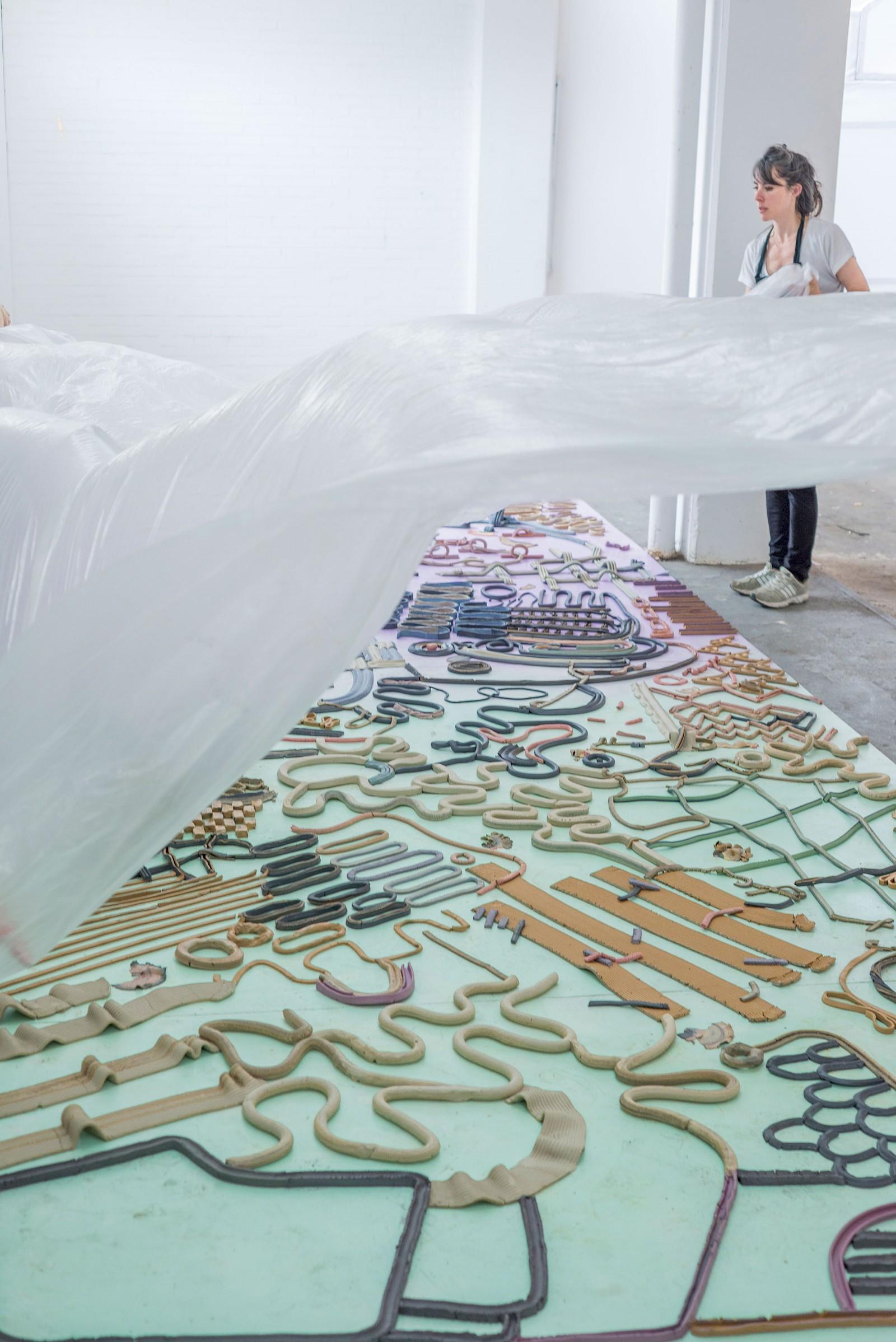 Image - 5 x 2m ephemeral clay flooring (unfired clay)