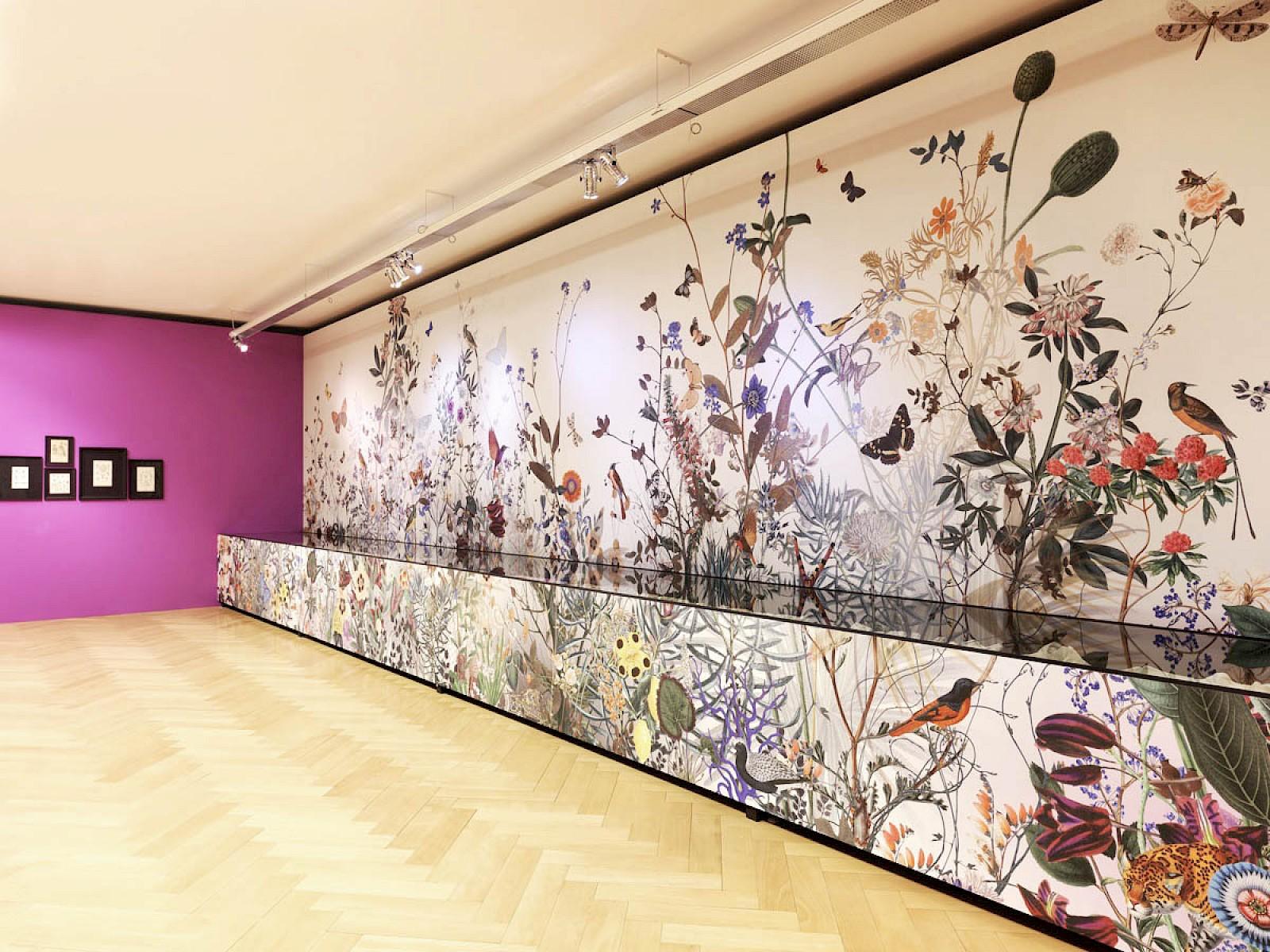 Image - Wallpaper Design for Textilmuseum St.Gallen, Switzerland