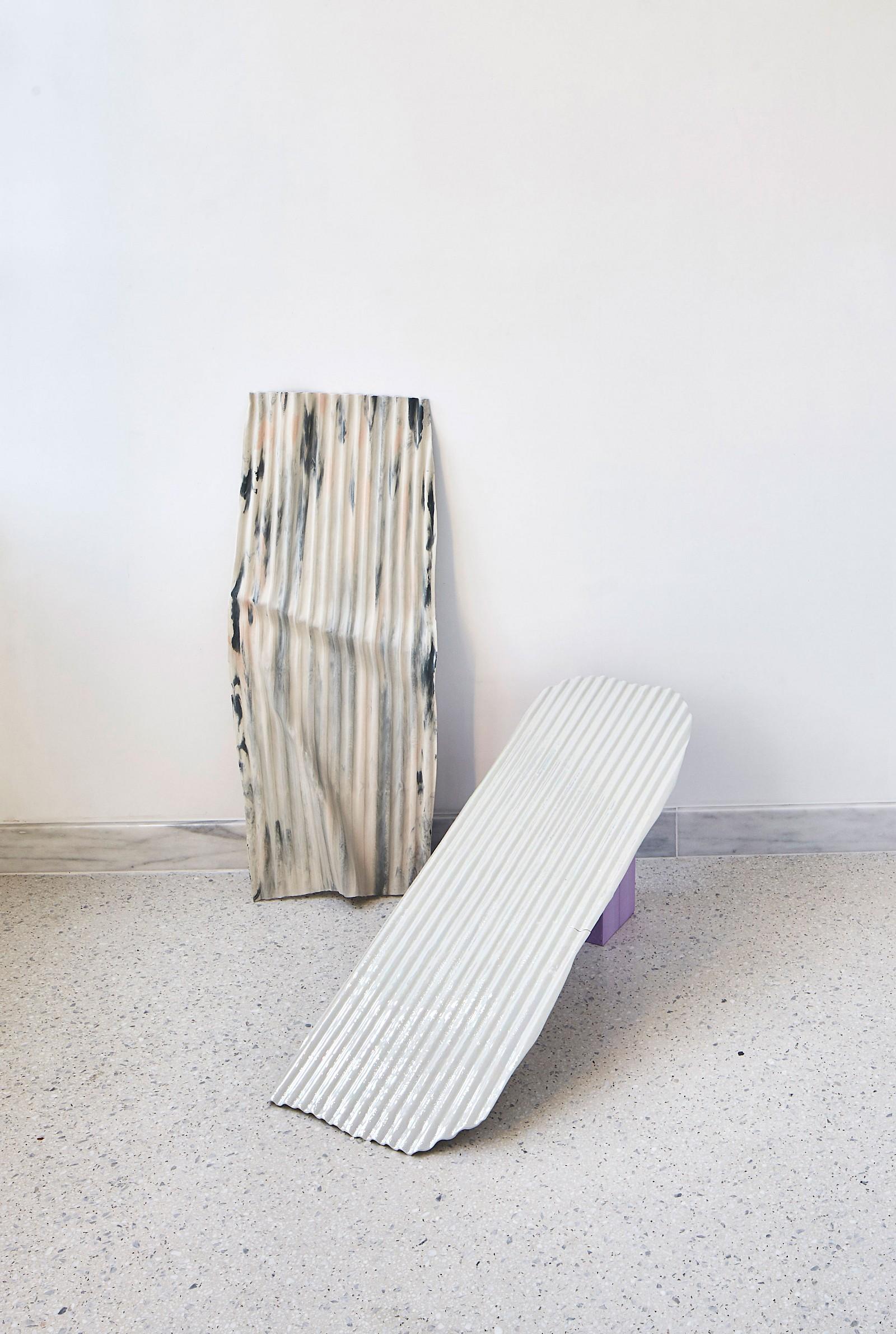 Image - Ceramics, 105 × 75 × 6cm, Installation view