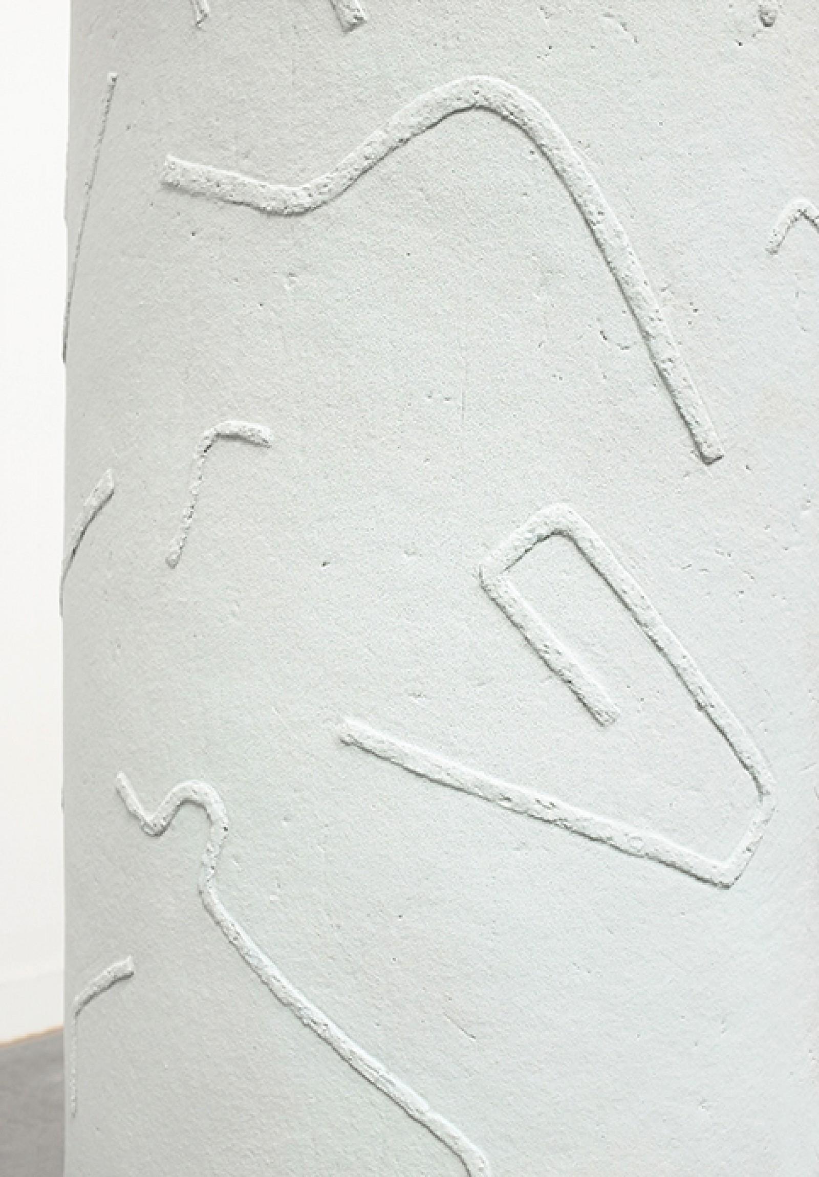 Image - Detail of ceramic screen; size: 130 × 65 × 1,3cm