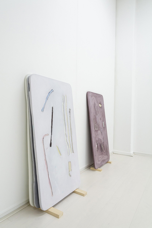 Image - Ceramic, Acryl, Plaster, Size: 46,5 x 88cm