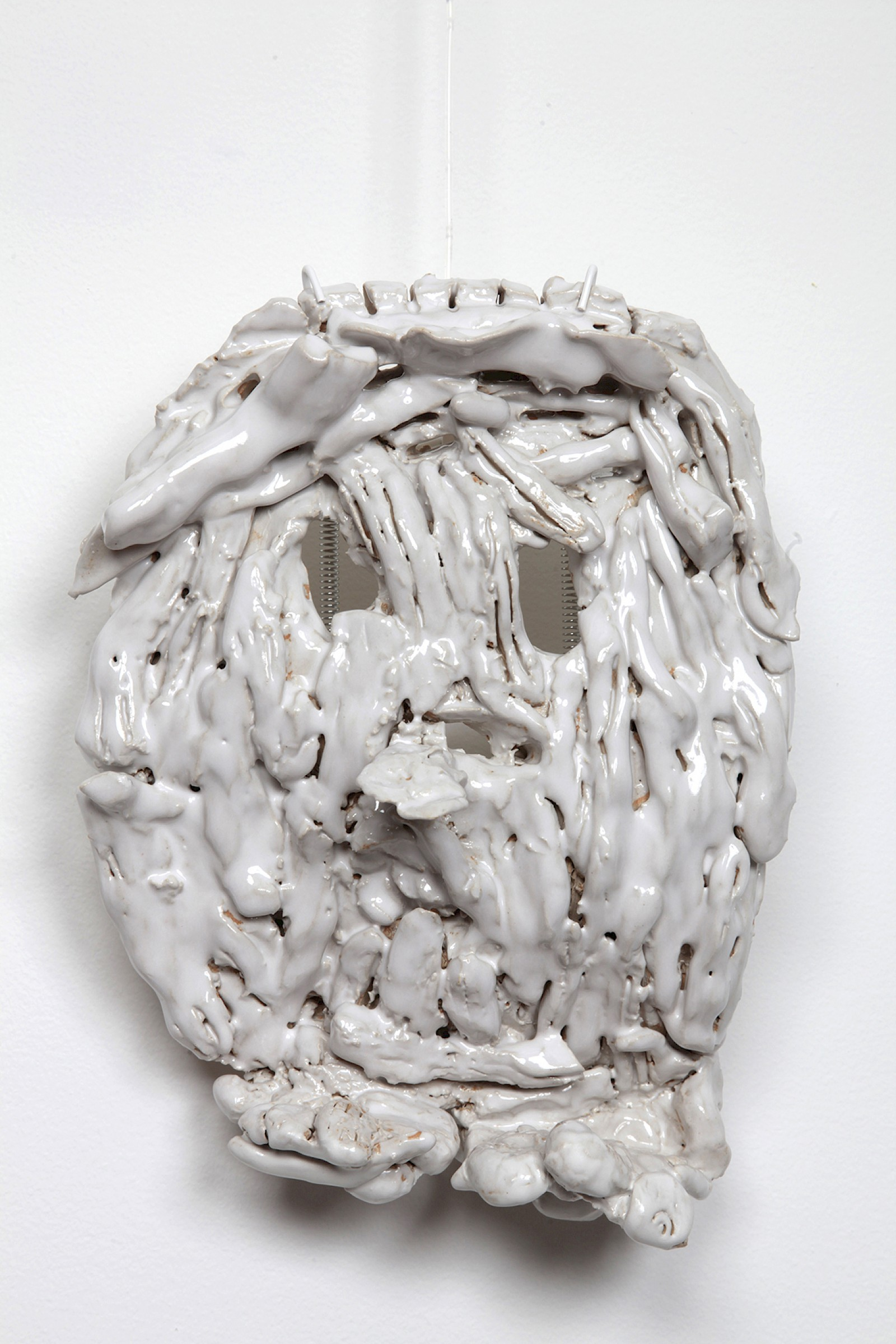 Image - Ceramic mask by Emilie Frosio