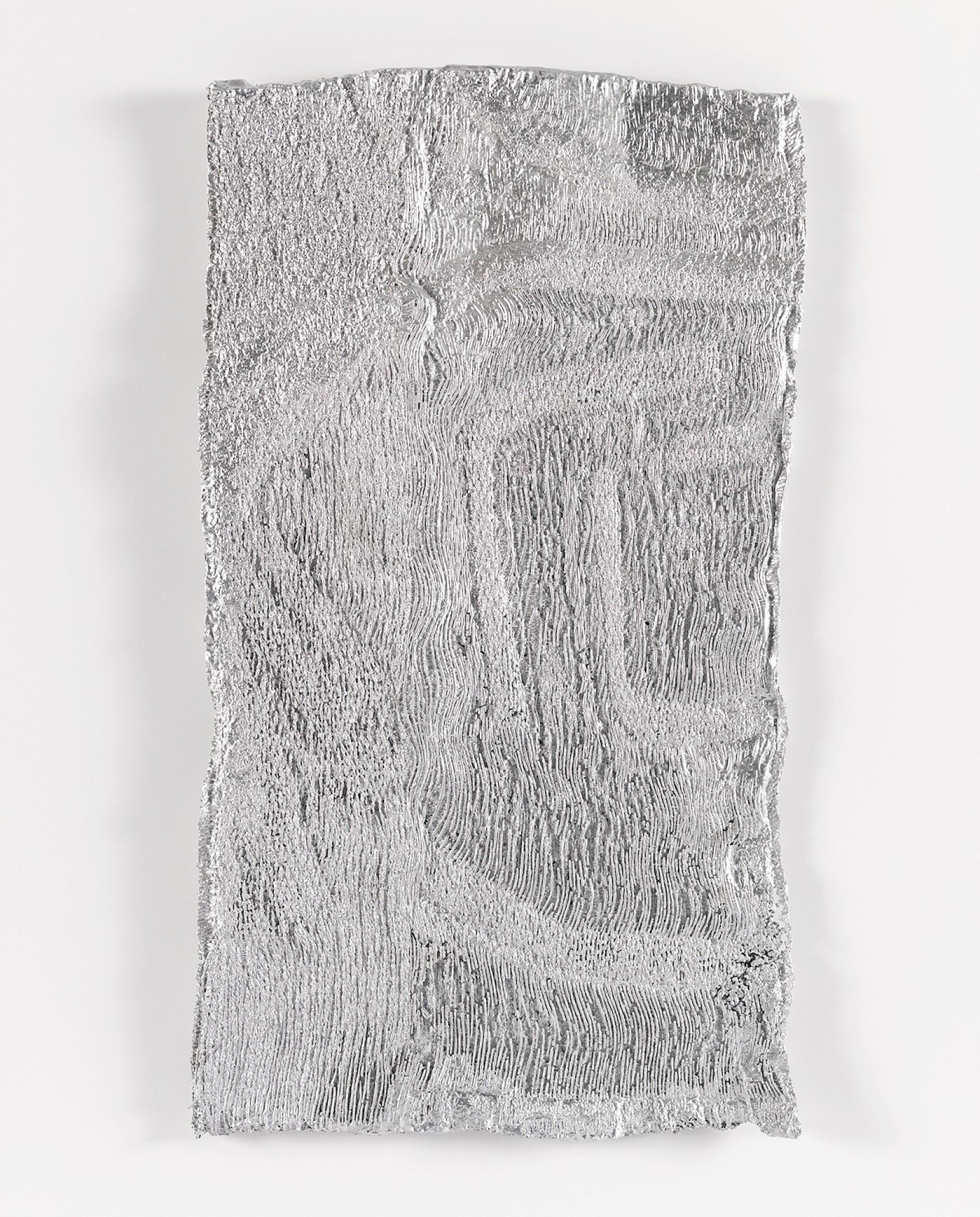 Image - Sur le fil, aluminium, Size: 21 x 37 x 0.5cm