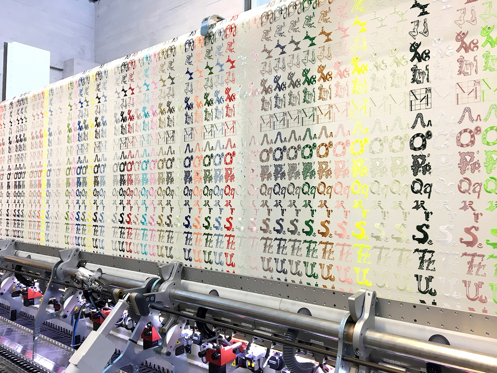 Image - 5,2m Embroidery machine